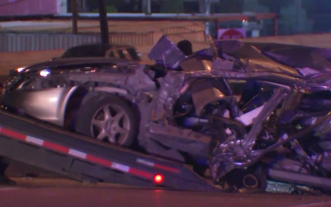 Suspected Drunk Driver Plows Into Another Vehicle in Houston