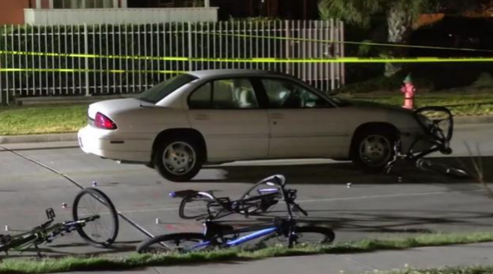 Woman Crashes into Two Bicyclists, Killing One