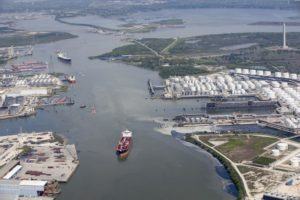 Barge Accident in Houston Shipping Channel