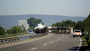 What NOT to Do After a Large Truck Accident