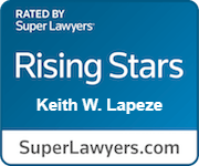 Super Lawyer keith lapeze