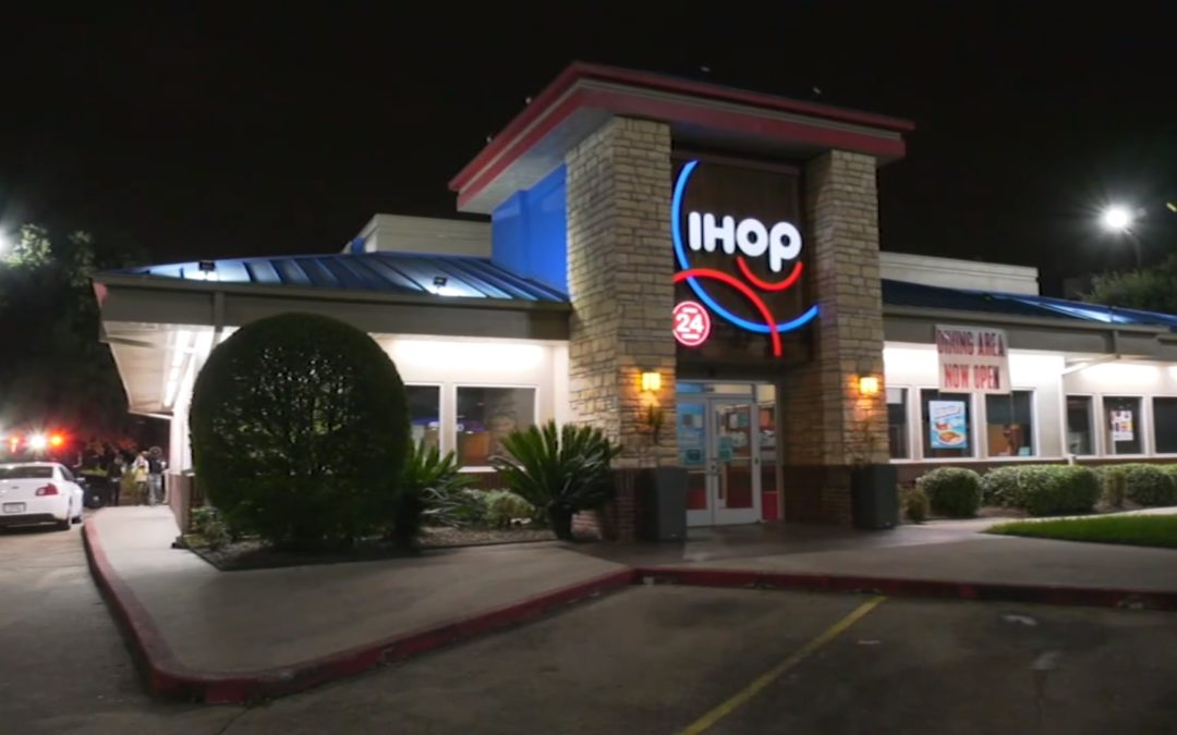 Reckless Driver Engages HPD in Car Chase and Crashes into IHOP