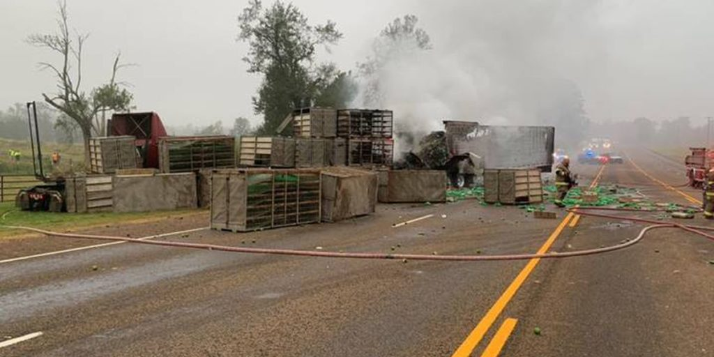 Semi-Truck Collision Leaves 1 Dead in Nacogdoches