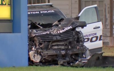 Two Officers Injured, Civilian Driver Dead Following Patrol Vehicle Involved Crash