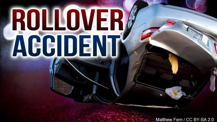 Thanksgiving Rollover Leaves One Dead, Three Children Injured