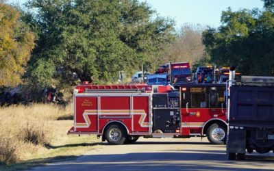 One Dead, Another Suffering Major Injuries Following an 18-Wheeler Crash