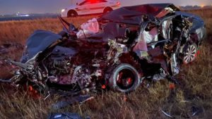 Two-Vehicle Wrong-Way Crash