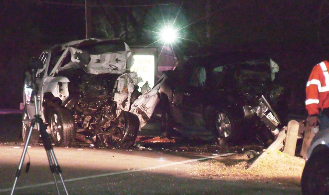 2 Killed, Infant Left Critically Injured Following Head-On Collision