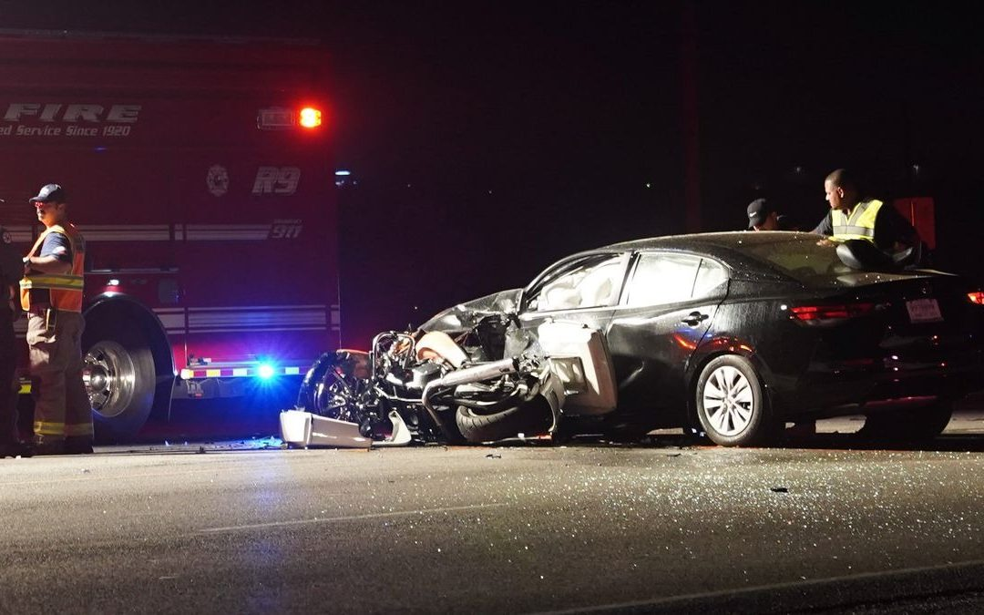 One Dead Following Motorcycle-Car Crash at Intersection