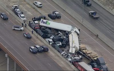 Series of Massive Pile-Ups Across Texas Leave 9 Dead, More than 65 Hospitalized