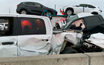 100 Vehicle Pile-Up Leaves 5 Dead, 36 Hospitalized