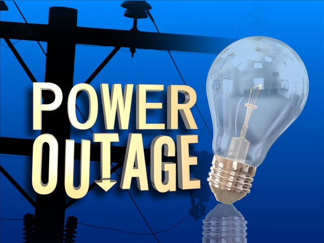 Vehicle Crashes into El Paso Electric Pole Causing Power Outage