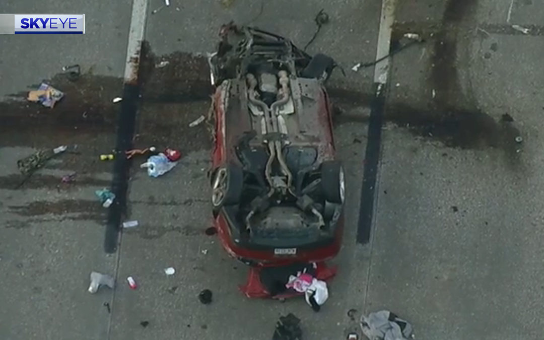 Police Chase Suspect and Innocent Driver Killed in Fiery Collision