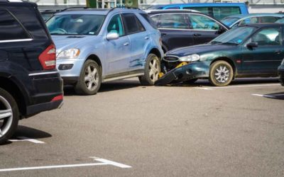 Determining Fault for A Crash That Occurred in a Parking Lot