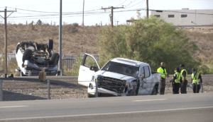 Texan Killed After Leaving Vehicle