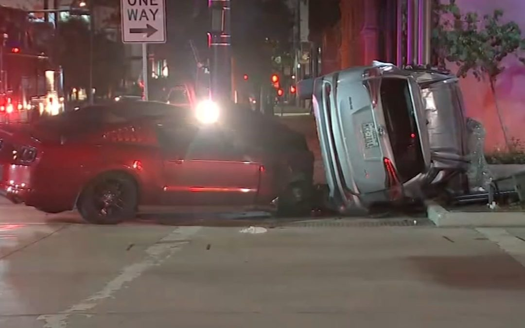 Memorial Day Weekend in Houston Kicks Off With Chaotic Collision