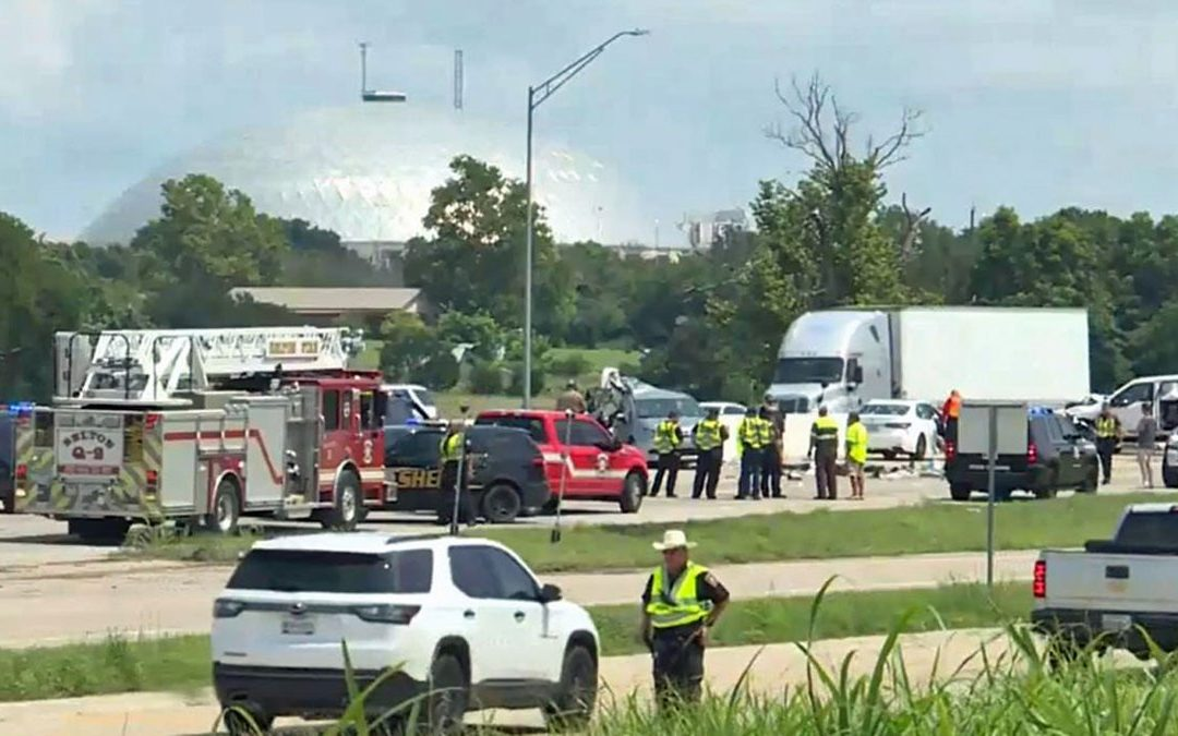 One Dead, Five Injured Following 7-Car Work-Zone Pile-Up