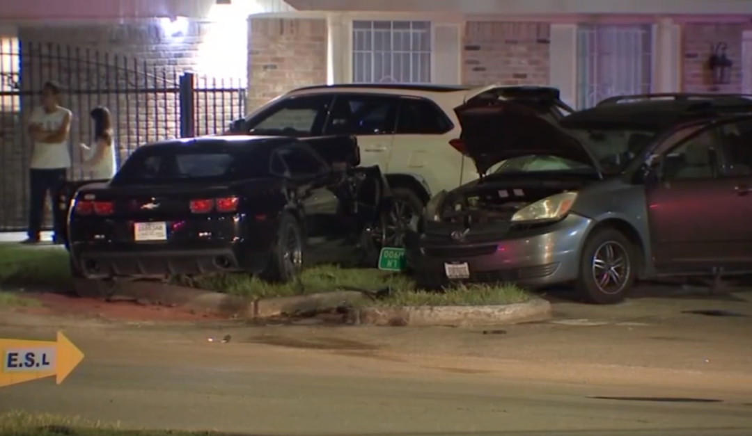 11-Year-Old Critically Injured in Suspected Street Racing Crash in Houston